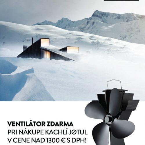 Jotul Ventilátor Zdarma SK 1
